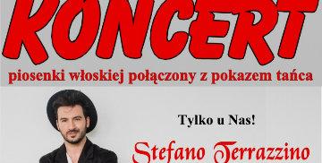 Koncert Stefano Terazzino
