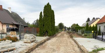 Przebudowa drogi w Kraszewie