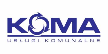 Logotyp firmy odbierającej odpady