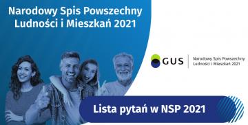Logotyp Głównego Urzędu Statystycznego, Narodowy Spis Powszechny 2021 Ludności i Mieszkań 2021, Lista pytań w NSP 2021, ludzie
