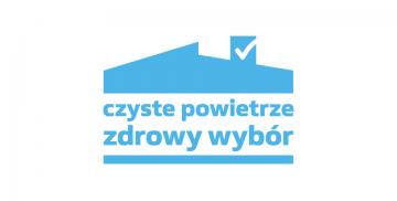 """Logotyp programu """"Czyste powietrze"""""""
