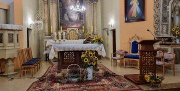 Prezbiterium kościoła pw. św. Mikołaja w Królewie