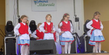 Przedszkolaki w Miłoradzu