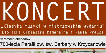 Koncert z okazji 700-lecia