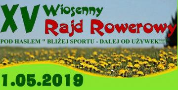 XV Wiosenny Rajd Rowerowy
