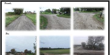 Przebudowa drogi w Ząbrowie