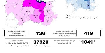 Dane Inspekcji Sanitarnej (20.05)