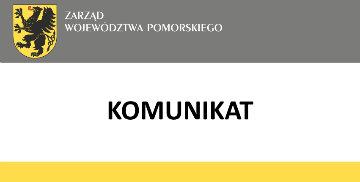 Komunikat Zarządu Województwa