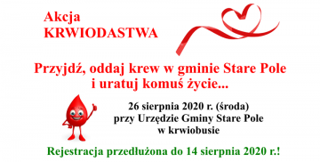 Rejestracja krwiodawców