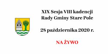 XIX Sesja VIII kadencji Rady Gminy